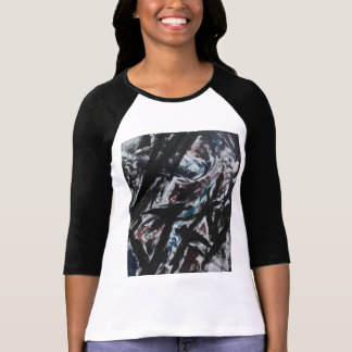 116 - Womens Baseball T-Shirt