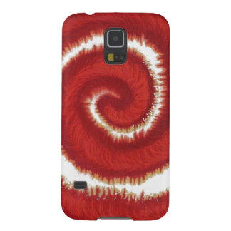 1st-Root Chakra Red Spiral Artwork #1 Galaxy S5 Covers
