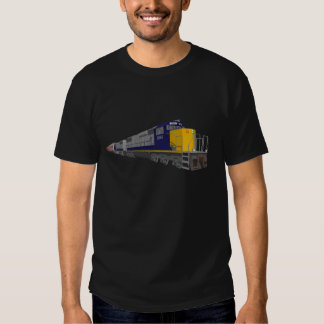 3D Model: Freight Train: Railroad: T Shirts