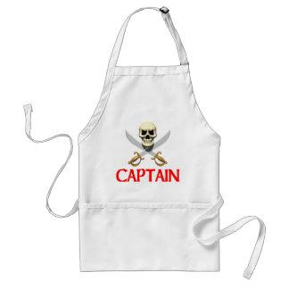 3D Pirate Captain Standard Apron