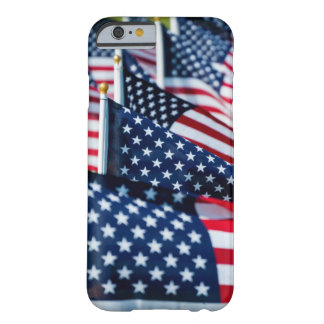 400 flags waving proudly in a field barely there iPhone 6 case