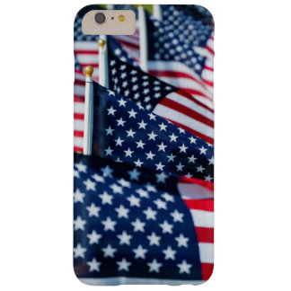 400 flags waving proudly in a field barely there iPhone 6 plus case