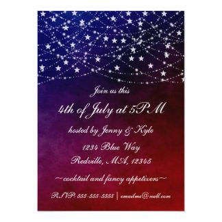 4 juillet le scintillement allume des invitations