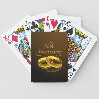 50th Anniversary | Gold Script Card Decks