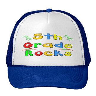 5th Grade Rocks Trucker Hat