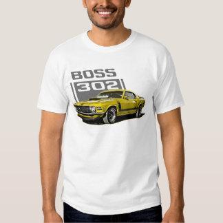 70 Boss 302 Yellow Shirts
