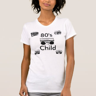 80's Child Ladies T Tees