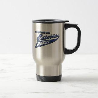 86th birthday designs 15 oz stainless steel travel mug