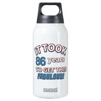 86th year birthday designs