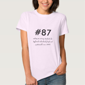#87 - Standards Tshirt