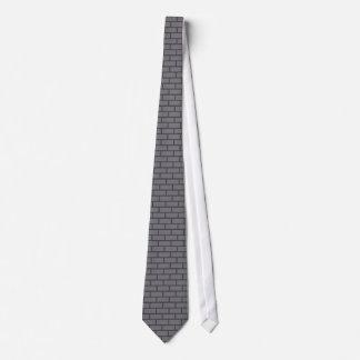 8-Bit Retro Brick, Grey Tie