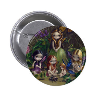"""""""A Gathering of Faeries"""" Button"""