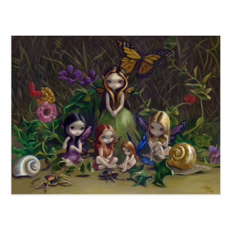 """A Gathering of Faeries"" Postcard"