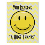 A Great Big Smile Giant Thank You Card