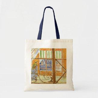 A Pork Butcher's Shop Window by Vincent van Gogh Budget Tote Bag