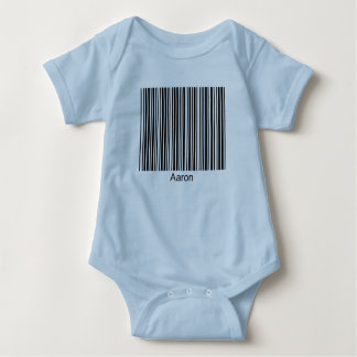 Aaron Personalized Functional Barcode Baby Creeper