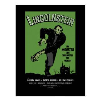 Abe Lincolnstein. Abraham Lincoln Frankenstein Postcard