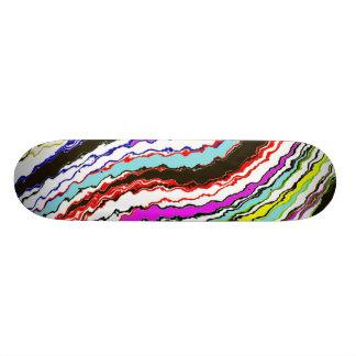 Abstract Art Skate Board Deck