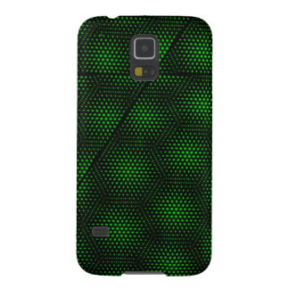 Abstract Green Background Case For Galaxy S5