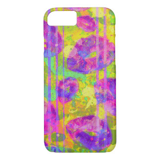 Abstract Kisses iPhone 7 Case
