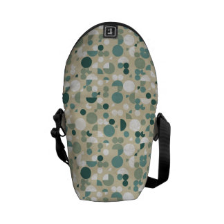 Abstract retro pattern messenger bags