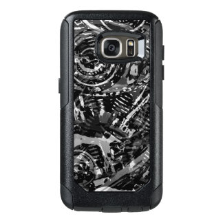 Abstract V-Twin Black OtterBox Samsung Galaxy S7 Case