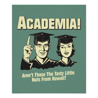 Academia: Tasty Nuts From Hawaii Poster