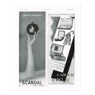 Advertisement,  Scandal Postcard