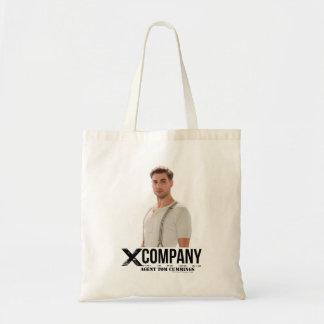 Agent Tom Cummings Budget Tote Bag