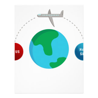 Air Travel Spreading Virus Personalized Letterhead