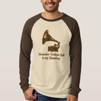 Alexander Graham Bell est mon Homeboy T-shirts