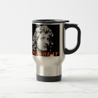 ALEXANDER THE GREAT 15 OZ STAINLESS STEEL TRAVEL MUG