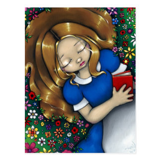"""Alice Dreaming"" Postcard"