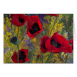 Alicia's Poppies Note Card
