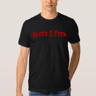 Alimentation de la purge 2 t shirts