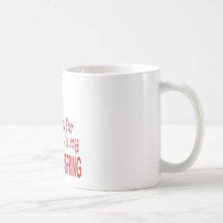 All I want Back Handspring Classic White Coffee Mug