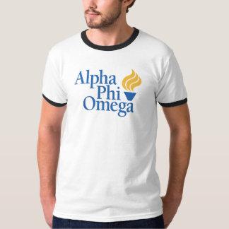 Alpha couleur d'Omega de phi - torche T Shirt