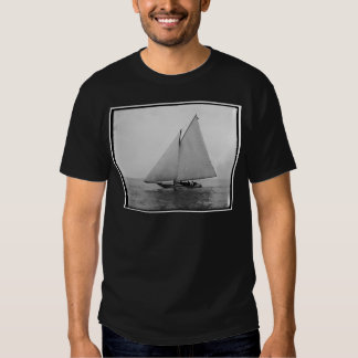 Alpha Sailing Yacht 1892 Tee Shirts
