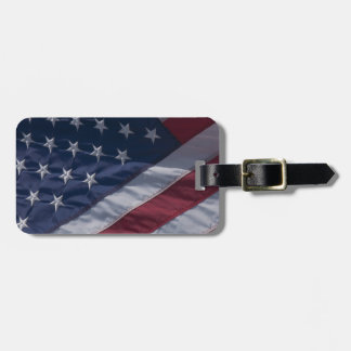 American flag. tags for luggage