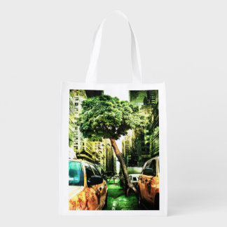 American Style with Taxi Grocery Bag