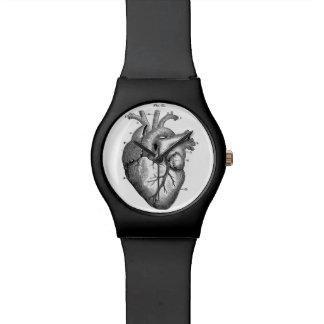 Anatomical Heart Watch Sleek