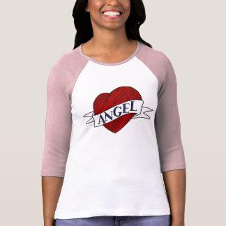 Angel Shirt - AngelHeart - Heart Tattoo