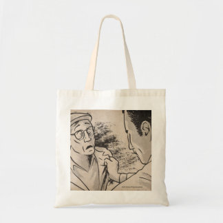 """Animated """"August 19th"""" Budget Tote Bag"""
