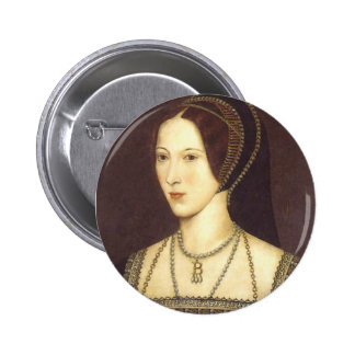 Anne Boleyn 2 Inch Round Button