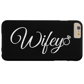Anneau de Wifey Coque iPhone 6 Plus Barely There