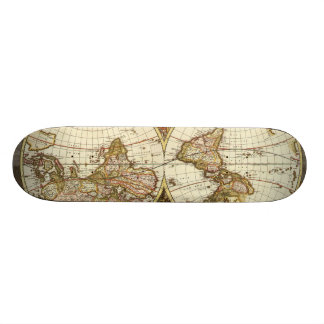Antique Map Skateboards