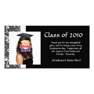 Any Year~ Vines Graduation Thank You/Announcement Personalized Photo Card