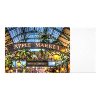 Apple Market Covent Garden Londo Photo Cards