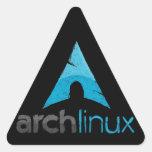 Arch Linux Logo Triangle Sticker