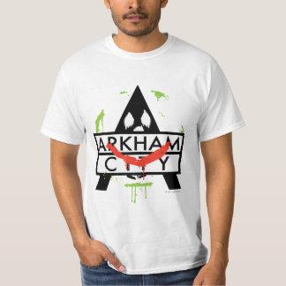 Arkham City Icon w/ Joker marks 2 Tees